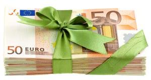 Подарок денег стоковое фото rf
