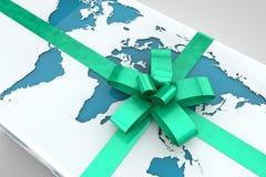 Подарок земли Стоковая Фотография