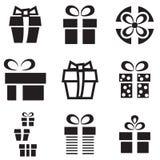 Подарок или присутствующий значок Стоковая Фотография RF