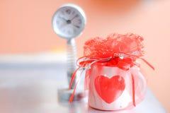 подарок и часы Стоковое Фото