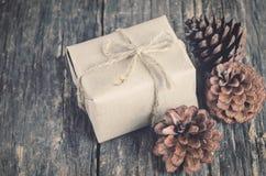 подарок коробки handmade Стоковое Фото