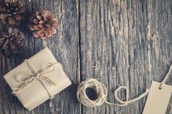 подарок коробки handmade Стоковое Изображение RF