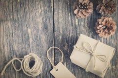 подарок коробки handmade Стоковые Изображения RF