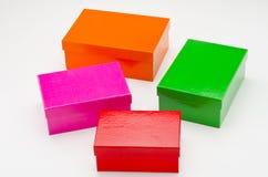 подарок коробок 4 Стоковые Фото