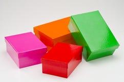 подарок коробок 4 Стоковые Изображения RF