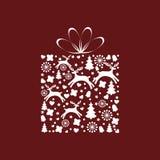 Подарок Кристмас Стоковая Фотография RF