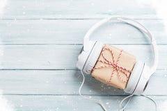 Подарок музыки рождества стоковое фото rf
