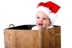 Подарок младенца рождества Стоковая Фотография RF