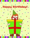 Подарок на день рождения Стоковое Изображение RF
