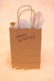 Подарок на день рождения стоковое фото rf
