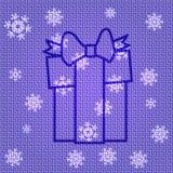 Подарок на рождество вектора Стоковое фото RF