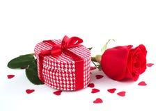 Подарок дня валентинок Стоковое Изображение