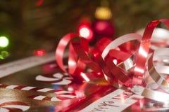 Подарок ожидает Стоковые Фото