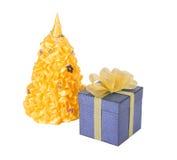 Подарок рождества, рождественская елка стоковые изображения