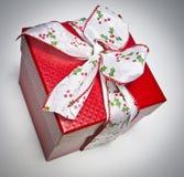 подарок рождества смычка Стоковое Фото
