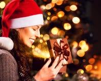 Подарок рождества Стоковое Фото