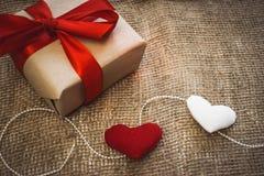 Подарок сделанный с руками Стоковое Изображение