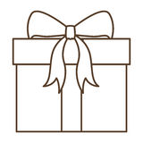 Подарок с Рождеством Христовым дизайна Стоковые Изображения RF