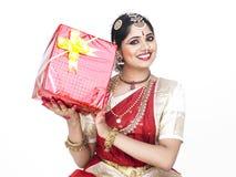 подарок танцора коробки классический Стоковые Изображения RF