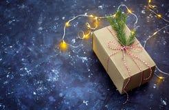 Подарок для рождества стоковые изображения