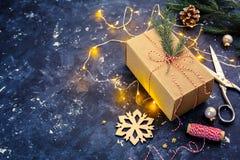Подарок для рождества стоковое фото rf
