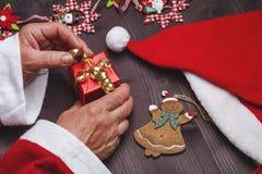 подарок santa claus Стоковое фото RF