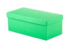 Подарочная коробка Ð losed ¡ зеленая Стоковое Изображение RF