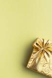 Подарочная коробка золота Стоковая Фотография RF