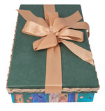 Подарочная коробка на верхней части Стоковое фото RF