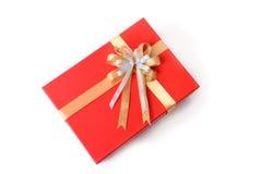 Подарочная коробка на topview Стоковая Фотография