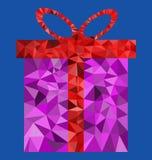 Подарочная коробка полигона Стоковые Фото