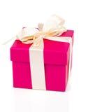 Подарочная коробка присутствующая Стоковые Изображения