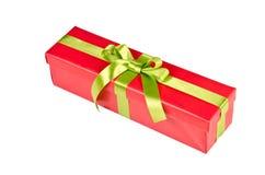 Подарочная коробка рождества Стоковая Фотография