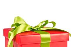 Подарочная коробка рождества Стоковая Фотография RF