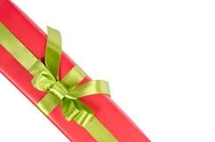 Подарочная коробка рождества Стоковое Фото