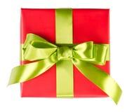 Подарочная коробка рождества Стоковое Изображение RF