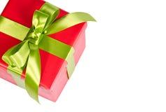 Подарочная коробка рождества Стоковые Фотографии RF
