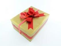 Подарочная коробка рождества Стоковые Изображения