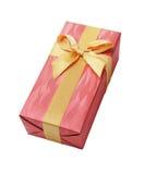 Подарочная коробка с лентой смычка Стоковое фото RF