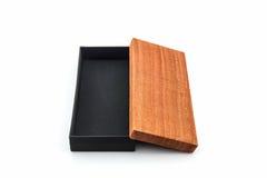 Подарочная коробка с хлопком ткани тайским Стоковые Изображения