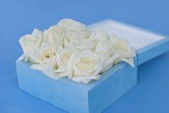 подарочная коробка для обручальных колец Стоковое Изображение RF