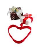 Подарочная коробка Стоковые Изображения