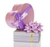 2 подарочной коробки Стоковая Фотография RF