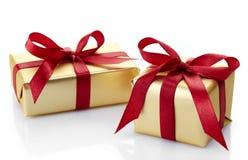 2 подарочной коробки Стоковое фото RF