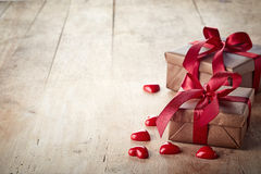 Подарочные коробки Брайна Стоковое Фото