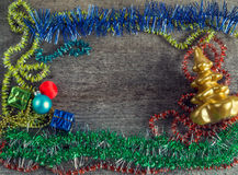 Подарочные коробки, игрушки рождества Стоковые Изображения