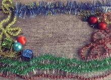 Подарочные коробки, игрушки рождества Стоковое Фото