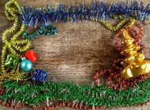 Подарочные коробки, игрушки рождества Стоковые Фотографии RF