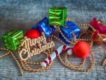 Подарочные коробки рождества Стоковое Фото
