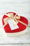 Подарочные коробки сердца Стоковая Фотография RF